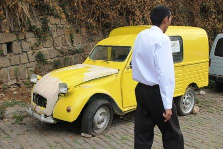 Taxi de ville à Tana