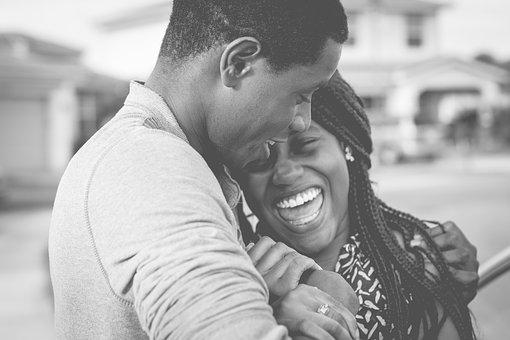 Un couple heureux
